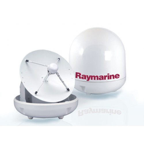 Raymarine 45STV - 45cm Satellite TV Antenna System for Europe - E93003-2