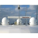 Raymarine 37STV Empty Dome and Baseplate - E96016