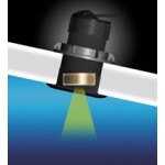 Raymarine B164 1kw 20° Tilted Bronze Transducer - A102113