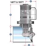 Lewmar Bow Thruster 185TT - 3.0kw - L591801