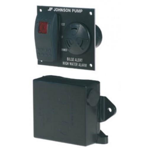 Johnson Bilge Pump Water Level Alert Panel 12v - 1904JP