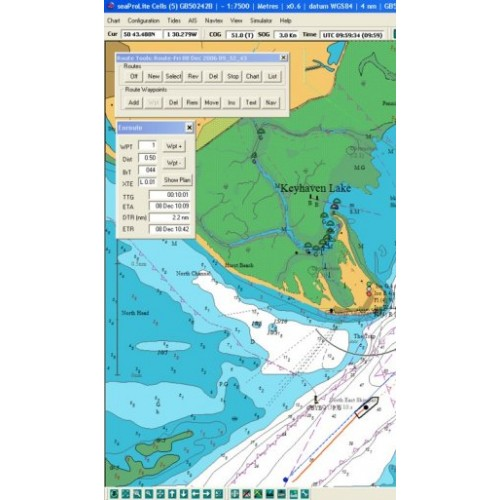 Euronav SeaPro Lite+ Navigation Software - UK and Ireland