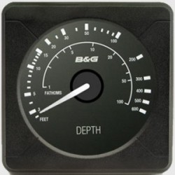 B&G H5000 Analogue Indicator Depth, Feet, Fathoms - 000-11724-001