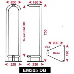 Echomax Deck Mounting Bracket - EM305PE - EM12DB