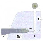 Raymarine Tiller Pilot Pushrod Extension 51mm - D004