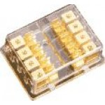 Sterling Power GAUE Gold Plated Fuse Block - GFB4848