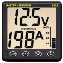 NASA Marine Clipper BM-2 Battery Monitor System 12v - BM2-12