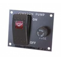 Johnson Bilge Pump Switch Panel 12v - 1224