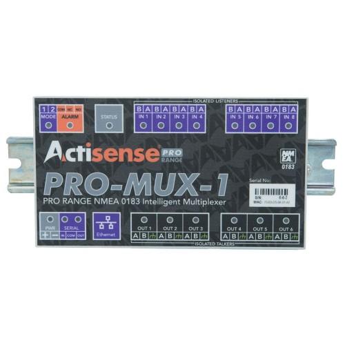 Actisense Professional NMEA0183 Multiplexer (Screwless) - PRO-MUX-1-BAS-S