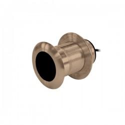 Raymarine B117 Bronze Low Profile Dual Freq Transducer - E66014