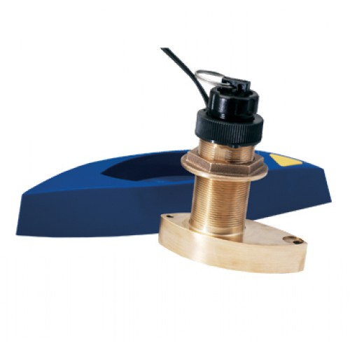 Navico- B744V Bronze 600 W Thru Hull 50/200 Khz Depth/Temp/Speed  - 000-0136-05