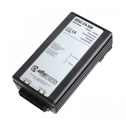Alfatronix DD Series 12vdc to 24vdc non-isolted 7a Converter - DD12-24-168