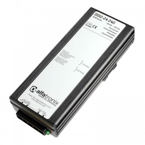 Alfatronix PowerVerter 12vdc to 24vdc 10a Converter - DD12-24-240