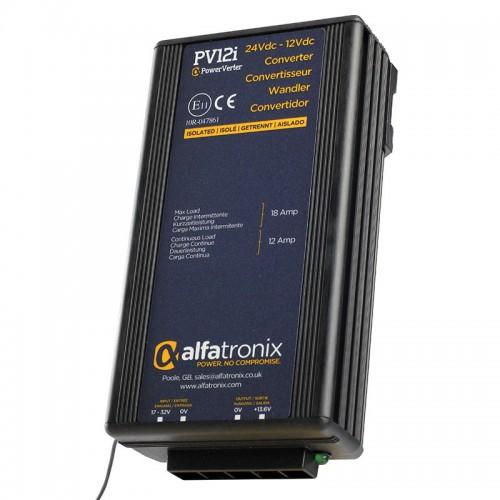 Alfatronix PowerVerter 24v to 12v Isolated Voltage Dropper - PV12i