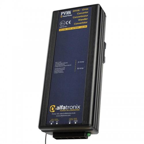 Alfatronix PowerVerter 24v to 12v Isolated Voltage Dropper - PV18i