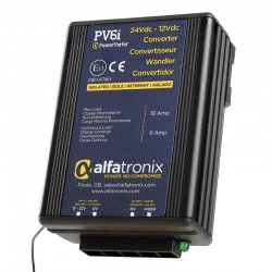 Alfatronix PowerVerter 24v to 12v Isolated Voltage Dropper - PV6i