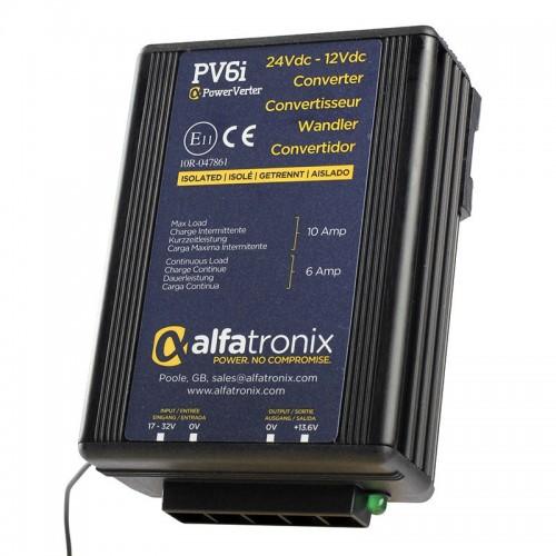 Alfatronix PowerVerter 24v to 12v Isolated Voltage Dropper - PV6i