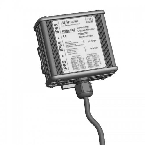 Alfatronix PowerVerter 24v to 12v Isolated IP65 Version - PV6i-RU