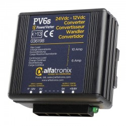 Alfatronix PowerVerter 24v to 12v non-isolated 6A Converter - PV6s