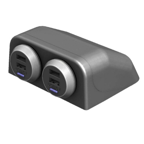 Alfatronix Table Mounting Pod for USB Chargers - USB-TPOD
