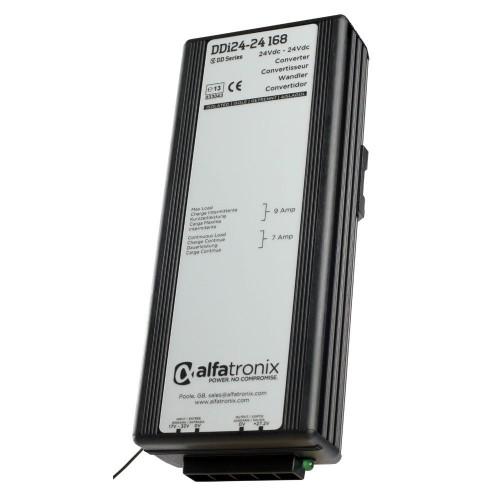 Alfatronix DDi Series 24vdc to 24vdc Isolated 7a Converter - DDI24-24-168