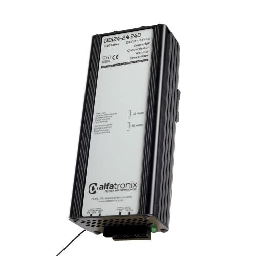 Alfatronix DDi Series 24vdc to 24vdc Isolated 10a Converter - DDI24-24-240