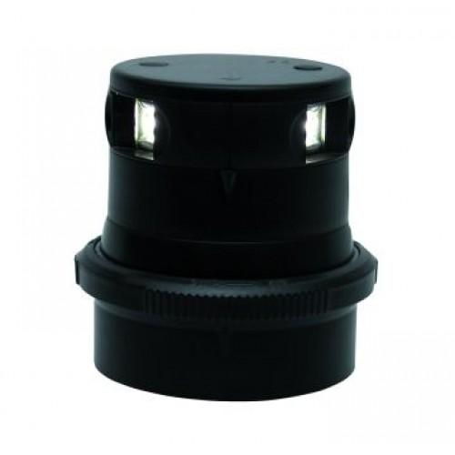 Aquasignal S34 LED Tricolour Light - Black