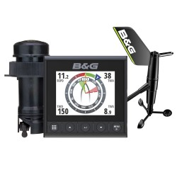 B&G Triton² Speed-Depth-Wind Pack with 1 Display and Wireless Wind Sensor - 000-14956-002