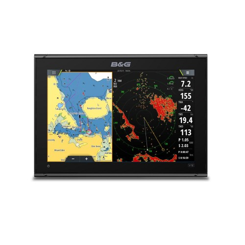 B&G Vulcan 12R Touchscreen Chartplotter & South Europe C-Map Chart - 000-14155-001