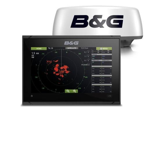 B&G Vulcan 9 Touchscreen Chartplotter & Halo20 Radome - 000-15620-001