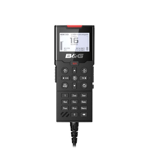 B&G H100 Wired Handset for V100 VHF - 000-15650-001
