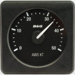B&G H5000 Analogue Indicator AWS 0-50kt - 000-11716-001