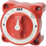 Blue Sea e-Series Selector 3 Position Battery Switch with AFD 11001 - 28992