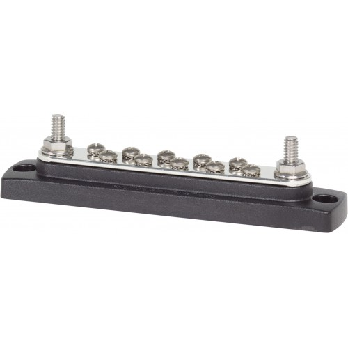 Blue Sea Common 150A BusBar - 10 Gang - 22301