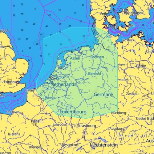 C-Map Discover Benelux & Inland - M-EN-Y216-MS