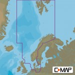 C-Map MAX Wide North Sea and Denmark Chart Cartridge - M-EN-M300