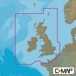 C-Map MAX Wide UK Ireland and the Channel Chart Cartridge - M-EW-M226