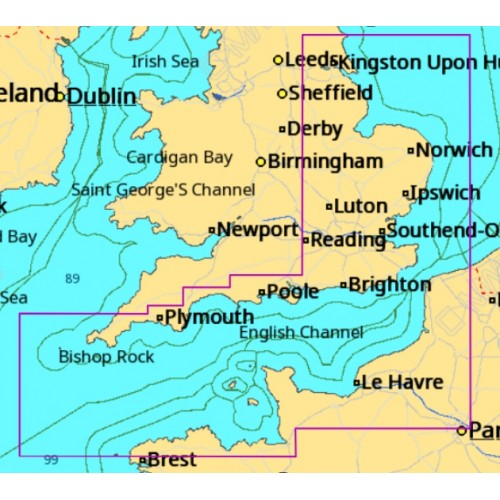 C-Map MAX-N+ English Channel to River Humber Local Chart - M-EW-Y319