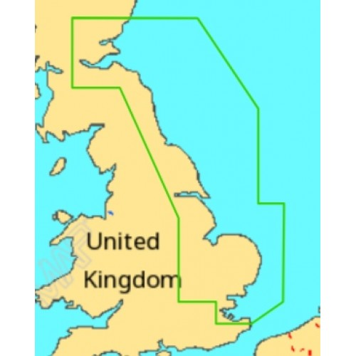 C-Map MAX-N Montrose to Ramsgate Local Chart - M-EW-N326