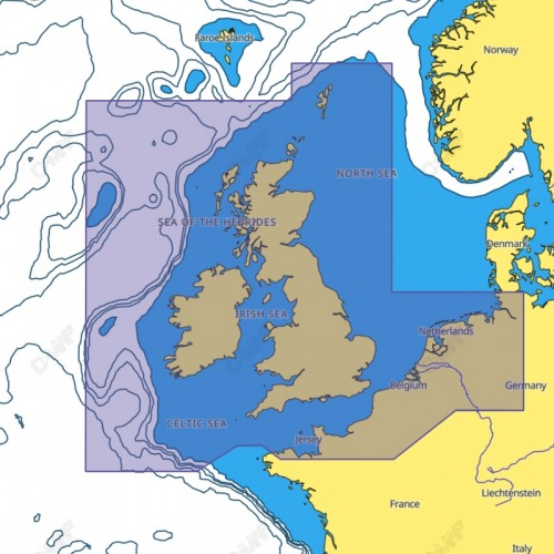 C-Map Reveal UK, Ireland and the Channel - M-EW-Y226-MS