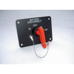 Battery Isolation Switch - Panel Mounted - 10040W