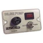 Bilge Pump Control Switch Panel - 30014