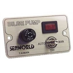 Bilge Pump Control Switch Panel - 30014