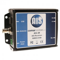 Comar Systems AIS-3R AIS Receiver with NMEA and USB Outputs - AIS-3R