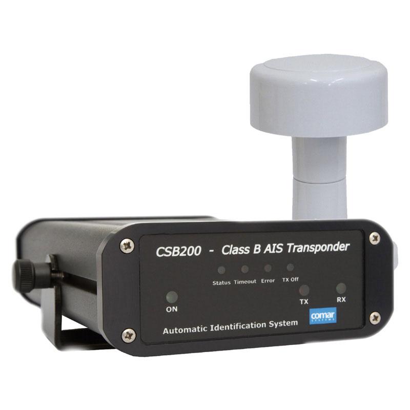 Comar CSB200 AIS Class B Transponder c/w AG100 GPS Antenna