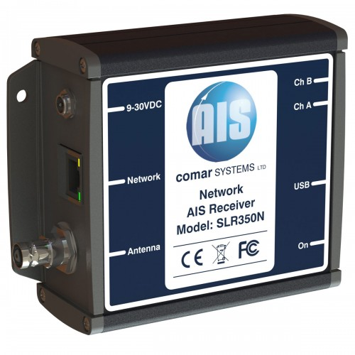 Comar Systems SLR350NI AIS Network Dual Channel Parallel receiver - Ethernet & USB Interfaces