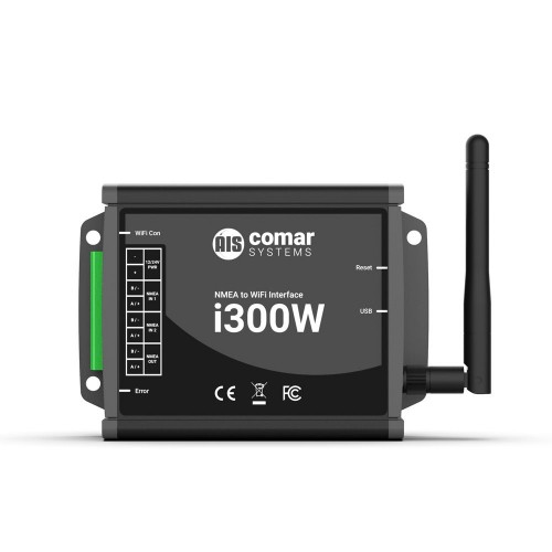 Comar Systems I300W NMEA to WiFi Interface Converter - I300W
