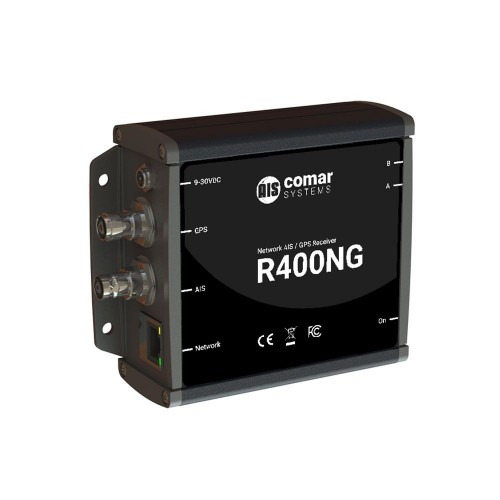 Comar Systems R400NG Network AIS Receiver with Ethernet and GPS - R400NG
