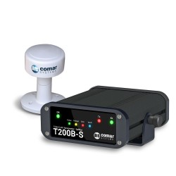 Comar Systems T200B-S Class B AIS Transponder with built-in Antenna Splitter and GPS Antenna
