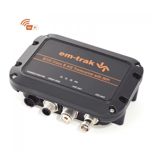 em-trak B330 Class B AIS Transceiver with WiFi - 413-0082